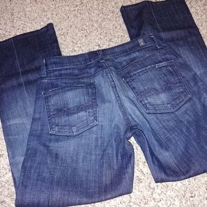 7 for all mankind size 26 bootcut